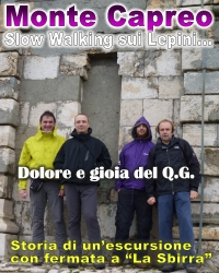 Monte Capreo in Slow Walking